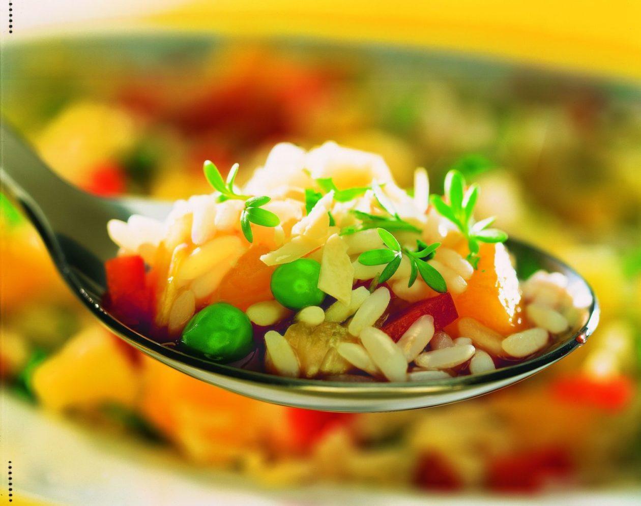 Fruchtiger Reissalat - BCM Diät Rezepte.ch