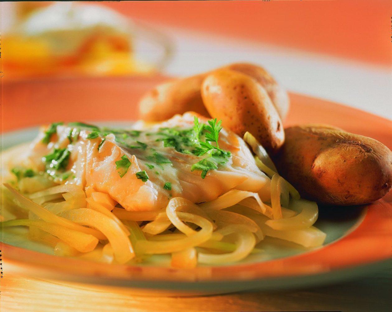 Kabeljaufilet auf Fenchel - BCM Diät Rezepte.ch