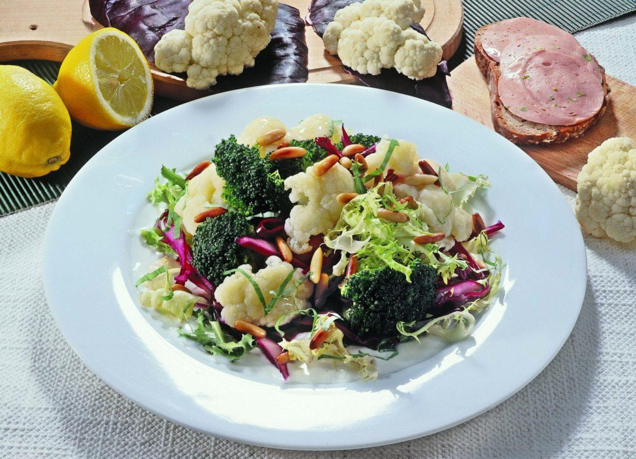 Lauwarmer Gemüsesalat - BCM Diät Rezepte.ch
