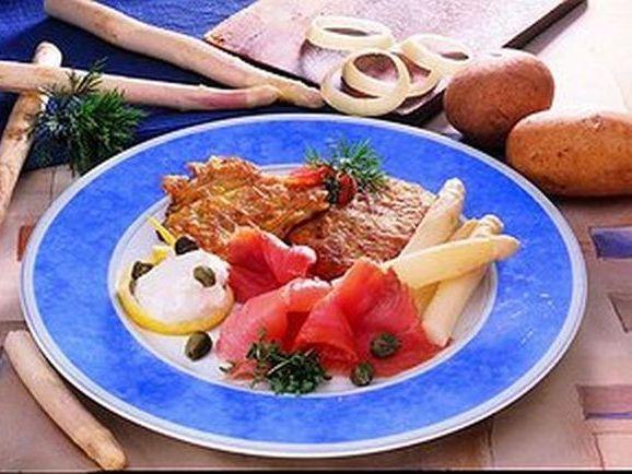 Kartoffelrösti mit Räucherlachs - BCM Diät Rezepte.ch