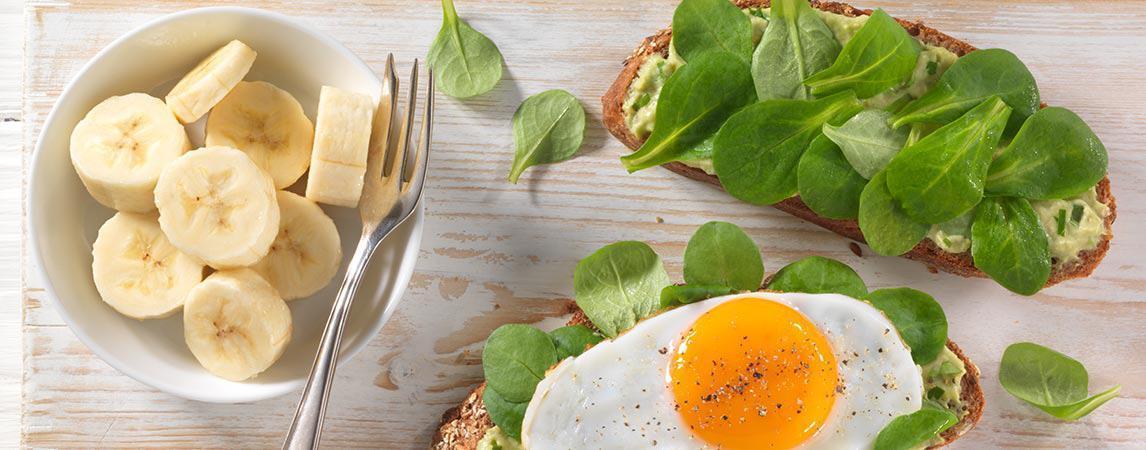 Avocado Spiegelei Vollkornsandwich 1