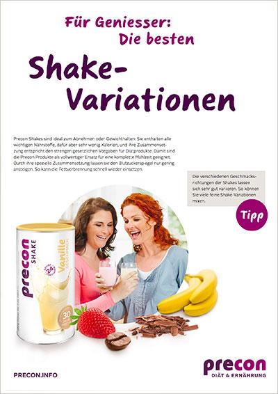 shake variationen-