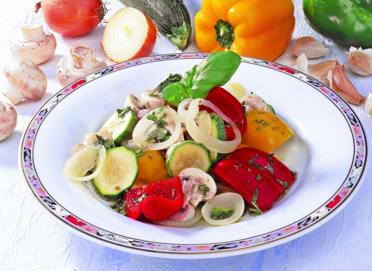 Bunte Gemüsevariation - BCM Diät Rezepte.ch