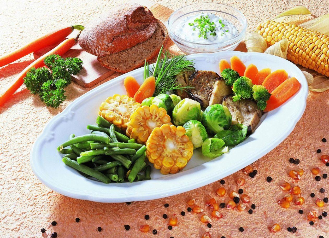 Feiner Gemüseteller - BCM Diät Rezepte.ch