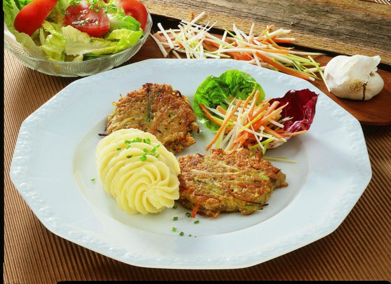 Gemüsepuffer - BCM Diät Rezepte.ch