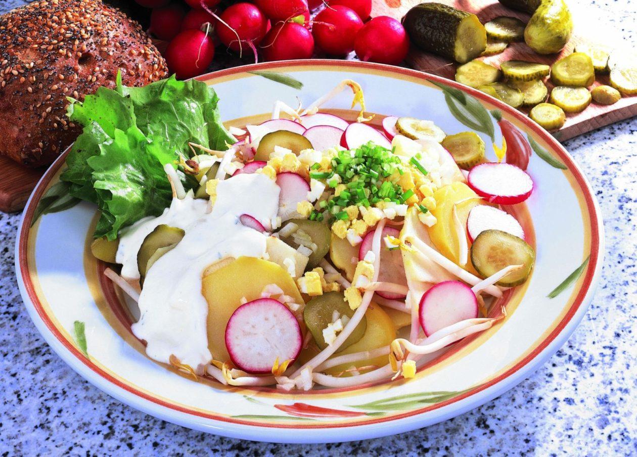 Kartoffel-Ei-Salat - BCM Diät Rezepte.ch