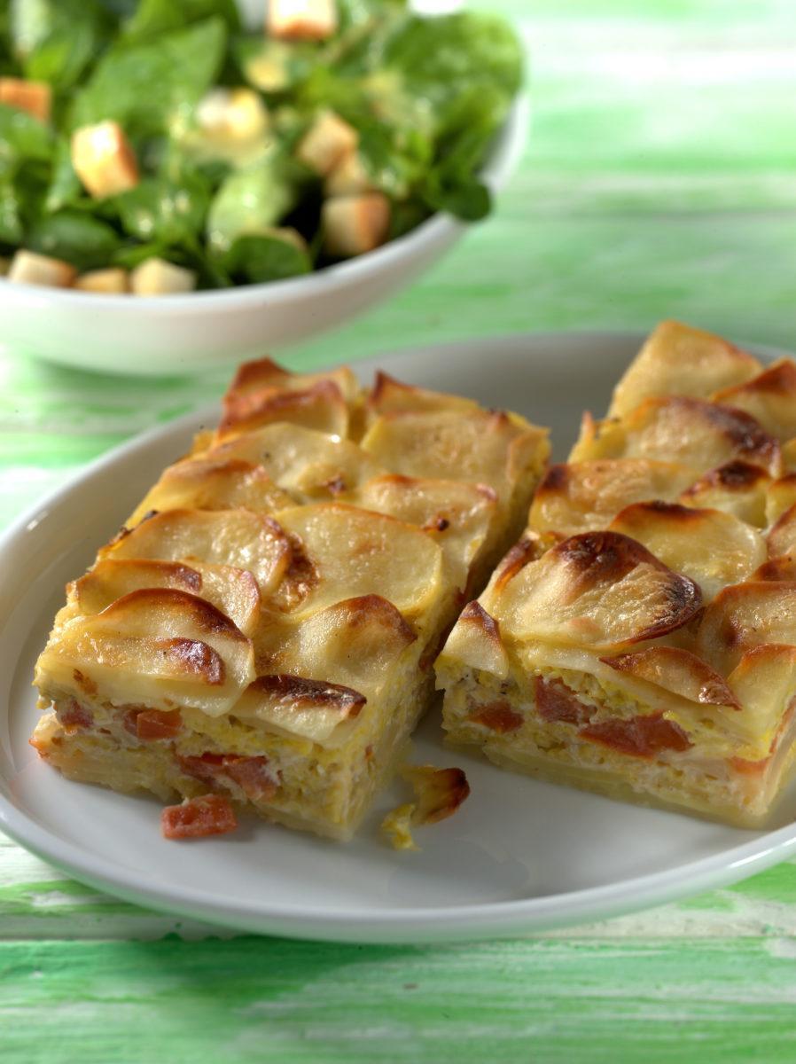 Kartoffel-Wirsing-Auflauf - BCM Diät Rezepte.ch