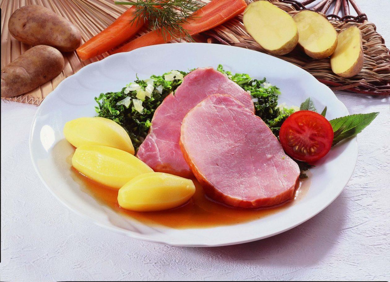 Kasseler mit Grünkohl - BCM Diät Rezepte.ch