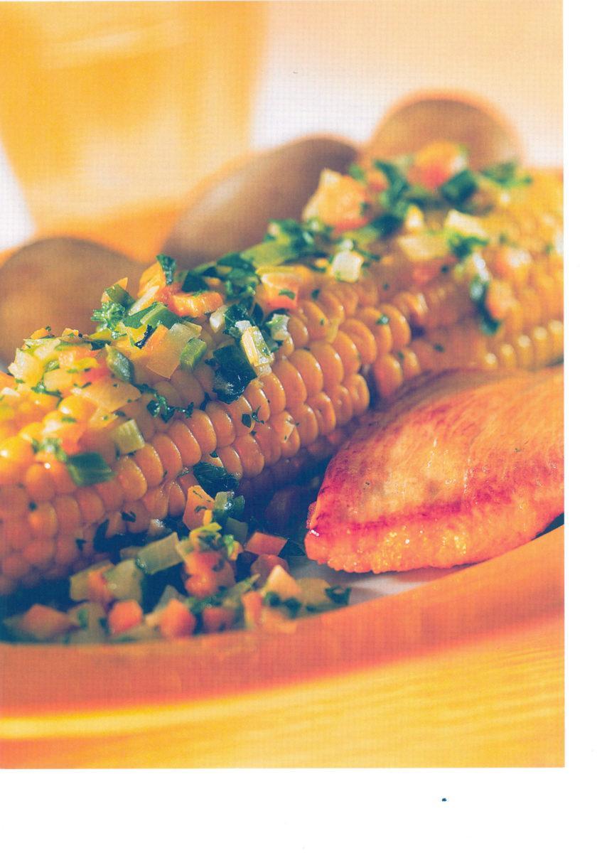 Maiskolben aus der Folie mit Putensteak - BCM Diät Rezepte.ch