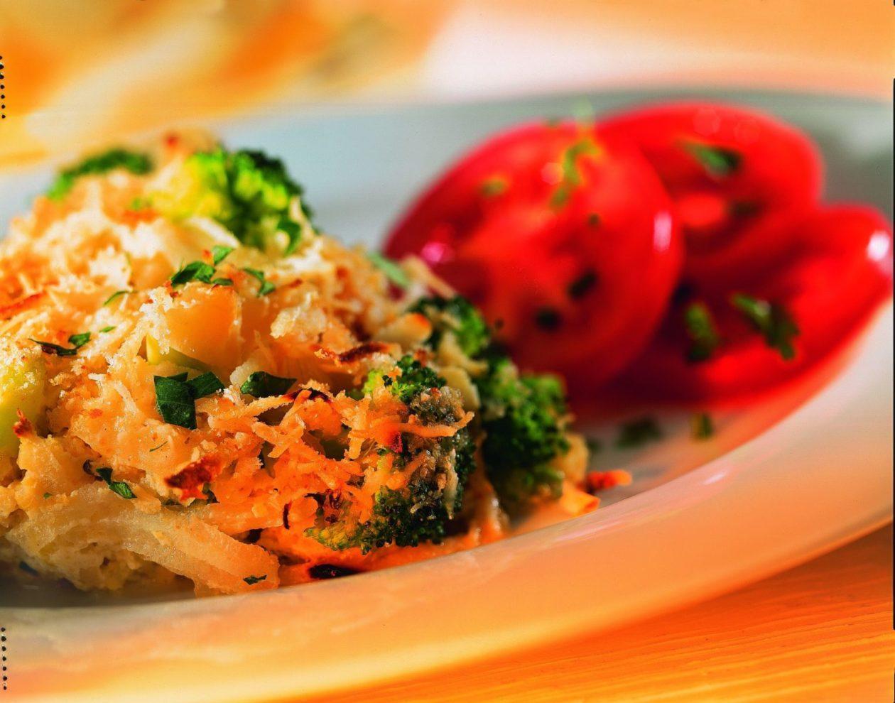 Pastinaken-Hirse-Auflauf - BCM Diät Rezepte.ch