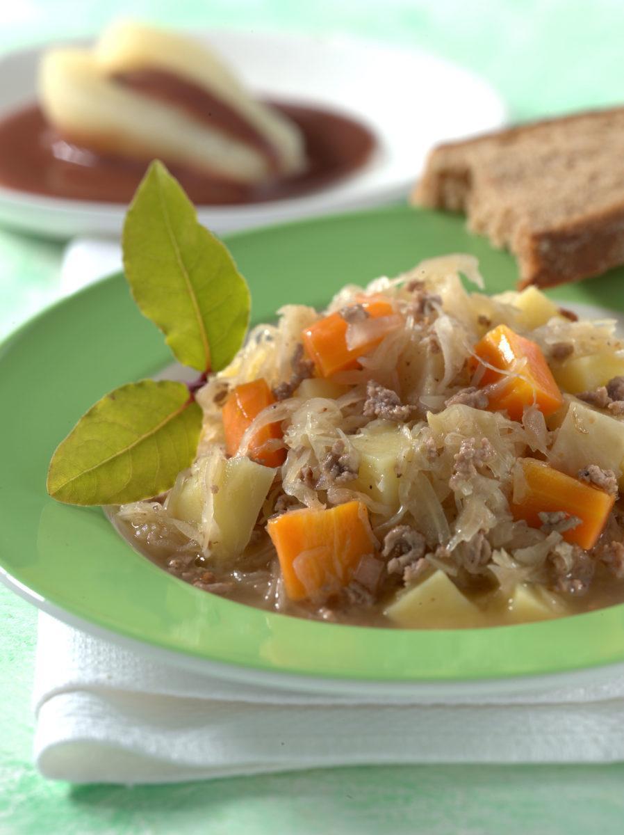 Sauerkrauttopf Mit Hackfleisch Precon Diat Rezepte