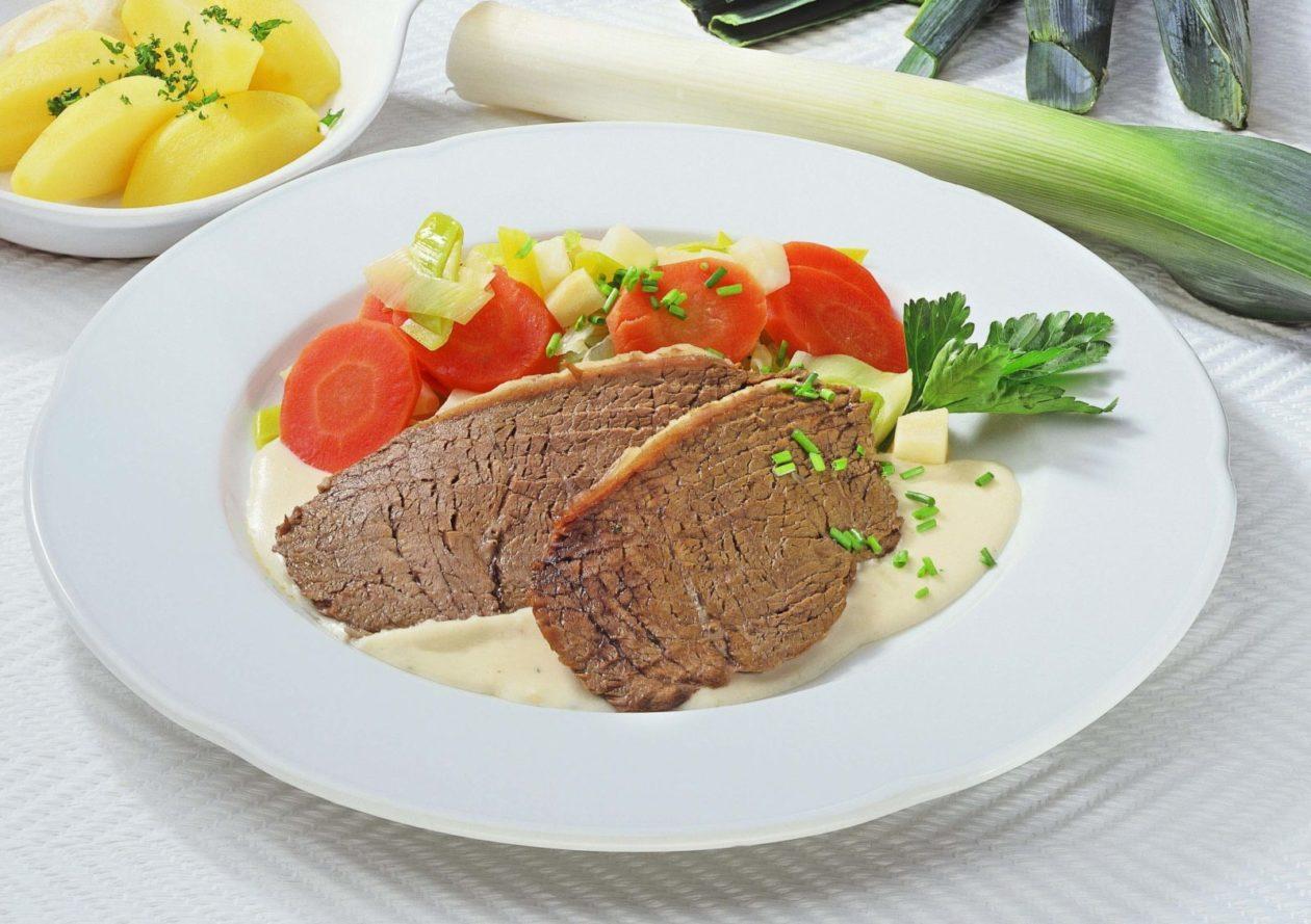 Tafelspitz mit Semmelkren - BCM Diät Rezepte.ch