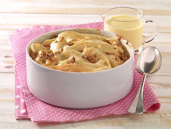 Apfelauflauf mit Amaretti - BCM Diät Rezepte.ch