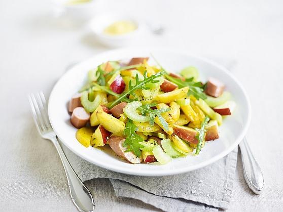 Fruchtiger Kartoffelsalat für die Grillparty - BCM Diät Rezepte.ch