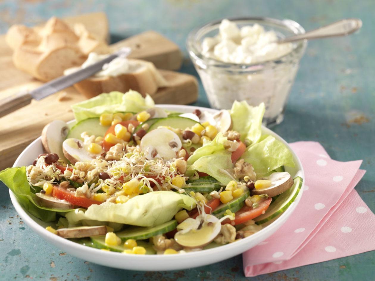 Fitness-Salatteller - BCM Diät Rezepte.ch