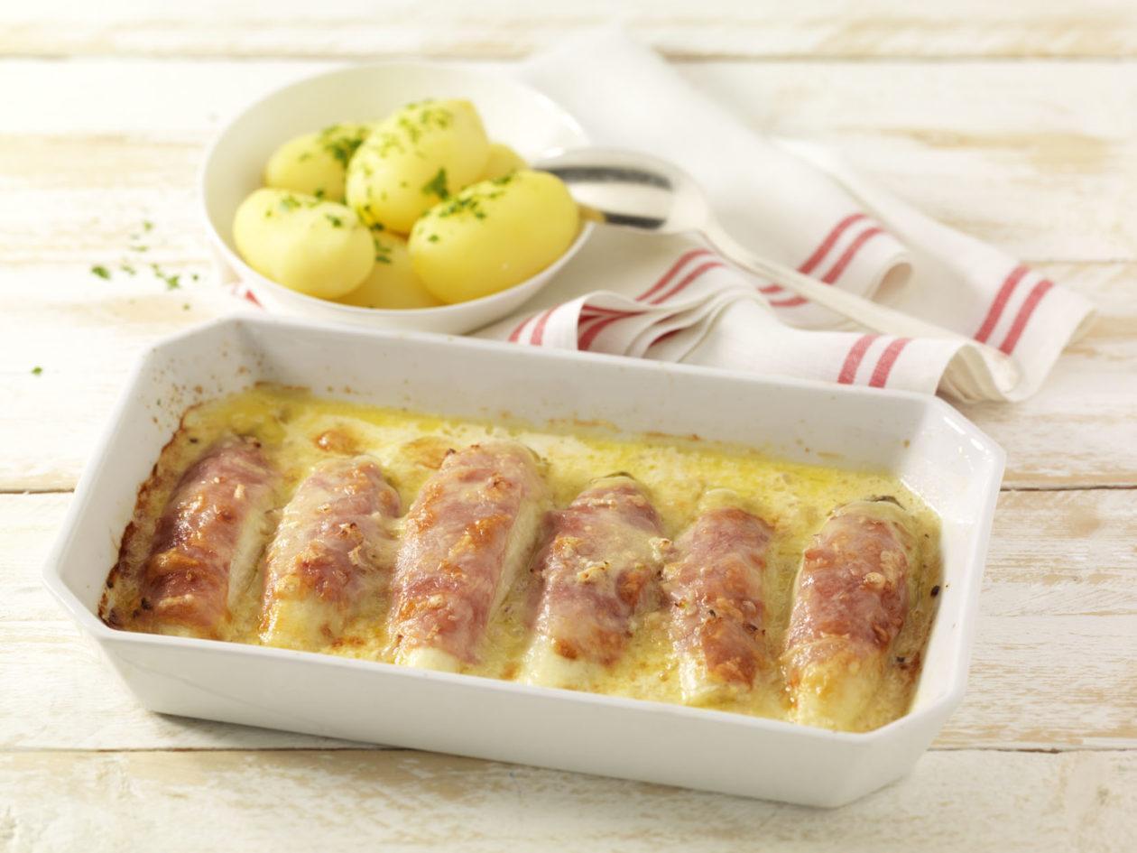 Überbackener Chicorée - BCM Diät Rezepte.ch